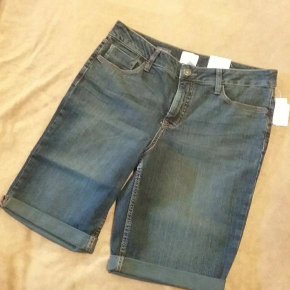 St. John's Bay Pants - TWO PAIR 🍍St. John's Bay Burmuda Jean Shorts